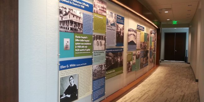 Architectural Features, Historical Exhibition & Display